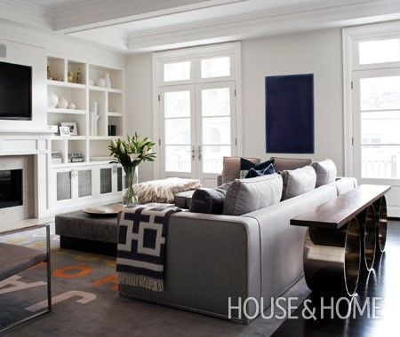 Modern Family Living Room | Photo Gallery: Jennifer Worts Interiors | House & Home | Photo by Ted Yarwood