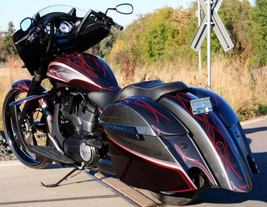Check out this radical customized Cross Country. - Victory Forums - Victory Motorcycle Forum