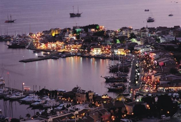 8.Day, Marmaris, private motor yacht rental, www.barbarosyachting.com