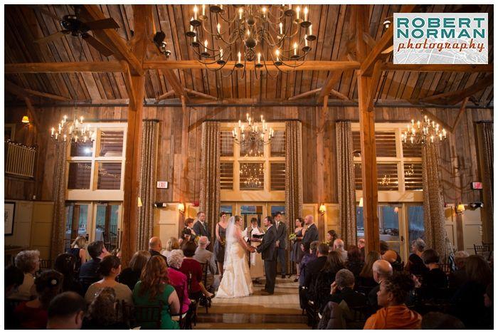 Weddings at The Barn are gorgeous inside or out! #grotonma #centralma #barnwedding #rusticwedding #barnatgibbethill wedding-the-barn-at-gibbet-hill-groton-ma