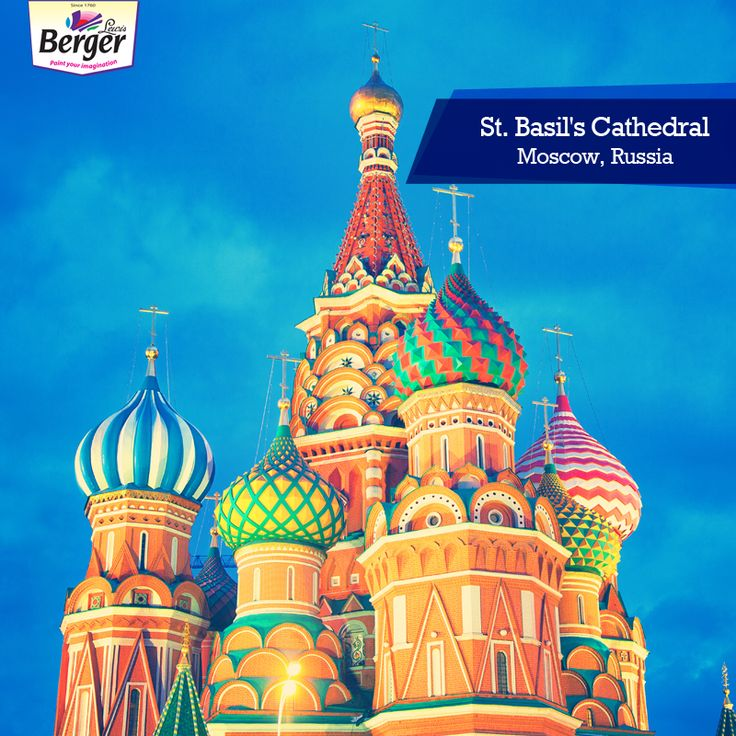 Saint Basil's Cathedral is a church in Red Square in Moscow, Russia. The bold use of colours and the intricacy of design make the exterior of this cathedral turned museum a sight to behold.  #ColourfulWorld