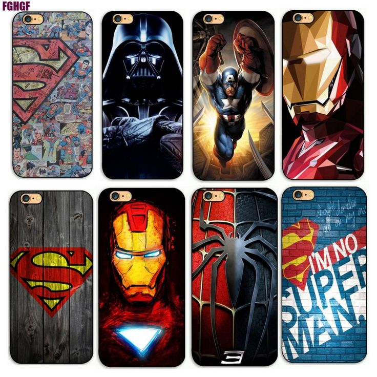 £8.99 Deadpool/iron Man/ Marvel Avengers KingKong Star Wars  Phone Hard Plastic Case Cover For Apple iPhone 4s/5s/se/5c/7/6s7plus/8 8p