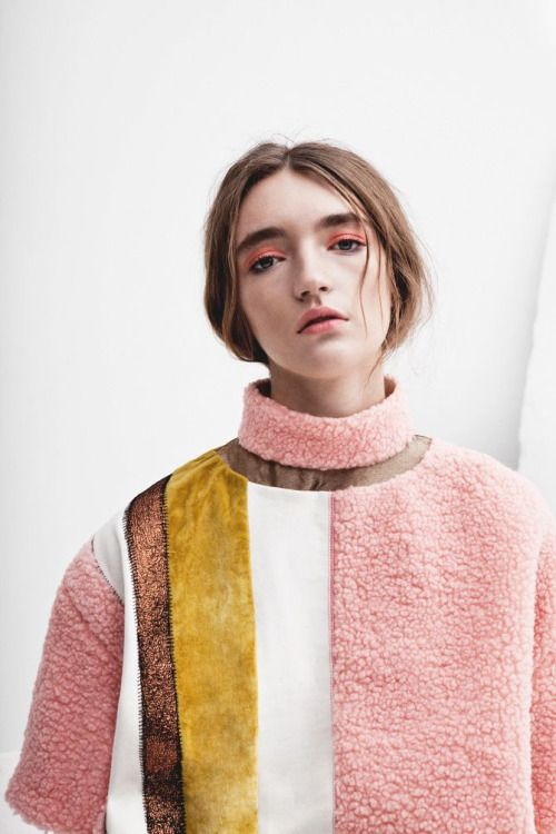 Pastels are perfect for Easter - try out different items of clothing and even pastel make up!
