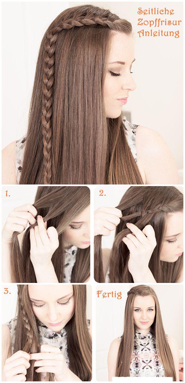 Helpful!!! - seitliche Zopffrisuren Anleitung Side Braid Hair Tutorial