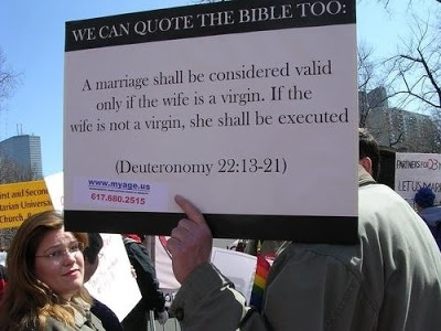 nuff said. How many Christian marriages today are valid as per BIBLICAL STANDARDS?