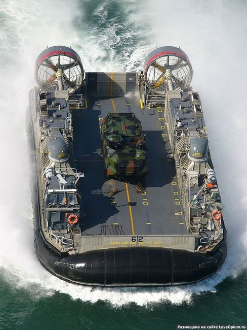 USN LCAC, Landing Craft, Air Cushioned