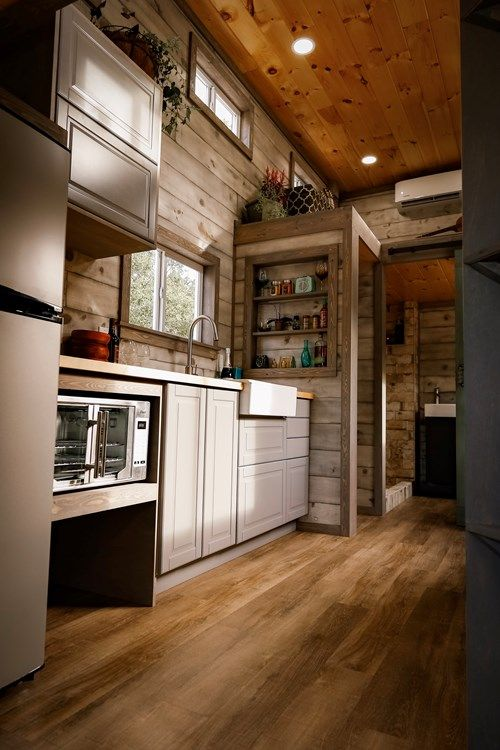 Brand New Tiny House For Sale in for sale on the Tiny House Marketplace. See a full video tour, as well as a full kitchen demo on our YOUTUBE channel (search