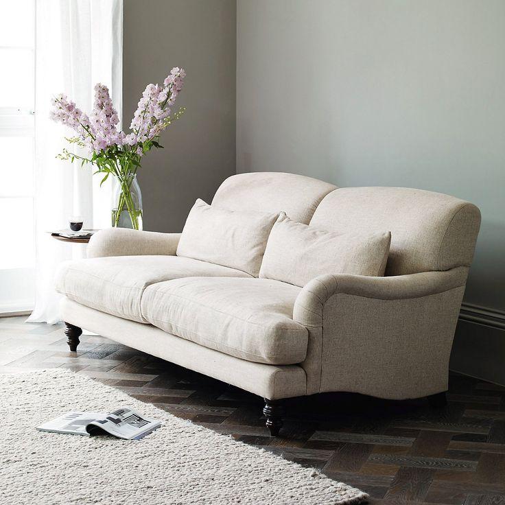 Petersham Sofa   Natural | The White Company