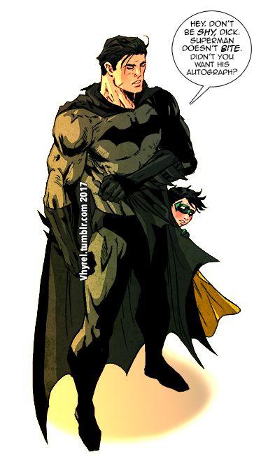 Beware of overprotective Batdad