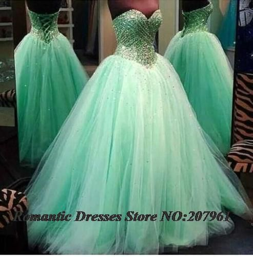 Find More Quinceanera Dresses Information about Newest Mint Green Quinceanera Dresses 2015 Ball Gowns Sweetheart Beaded Tulle Floor Length Vestidos De 15 Anos Lace up QUa57,High Quality dress pin,China dresses female Suppliers, Cheap dress shoes lace up from Romantic bride wedding dress Suzhou Co., Ltd. on Aliexpress.com