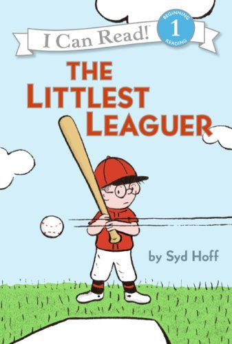 Paperback 399 The Littlest Leaguer I Can Read Book 1 By Syd Hoff Age Books For KidsKid