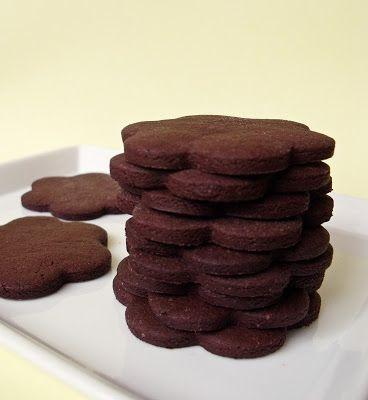 Citromhab: Kakaós keksz