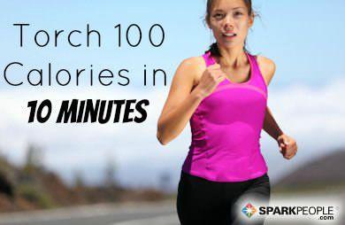 Burn 100 Calories in 10 Minutes! via @SparkPeople