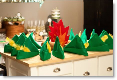 How to Make Felt Peter Pan Bunting & Peter Pan or Robin Hood Hat