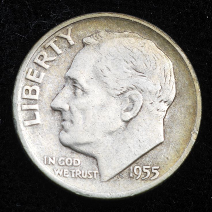 Silver dime: when our money still had some real value.