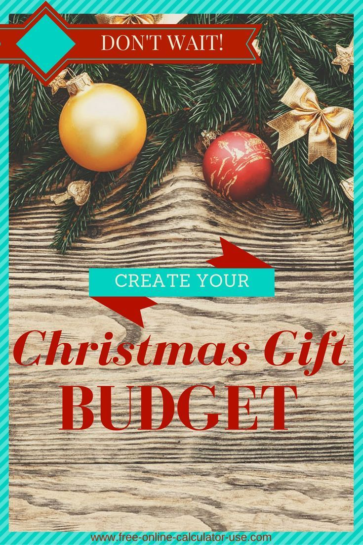christmas budget calculator plan to reduce holiday stress
