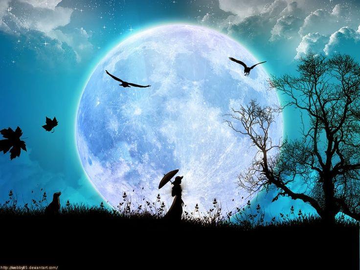 Tarot Celta de Ana: La luna, tu gran aliada