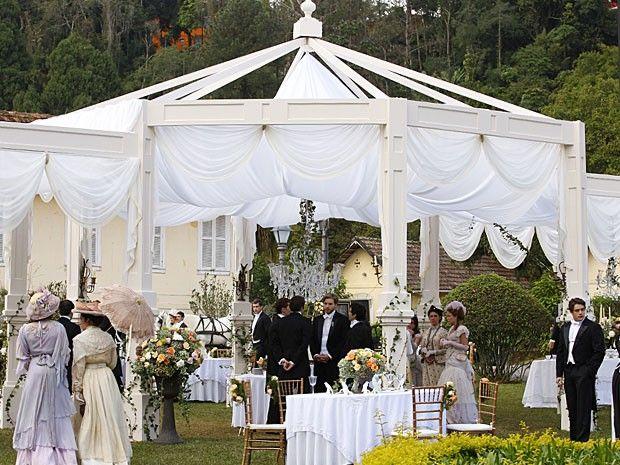 decoracao para casamento no jardim : decoracao para casamento no jardim:1000 ideias sobre Casamento De Tenda Branca no Pinterest