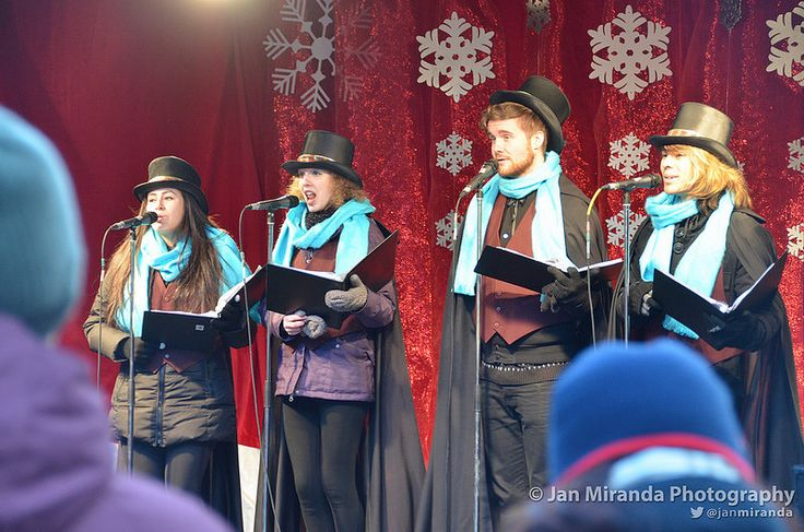 Listening to #Carolers perform @DistilleryTO during #xmas #festive #holiday #season
