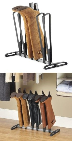 #13. Boot Organizer -- 55 Genius Storage Inventions That Will Simplify Your Life
