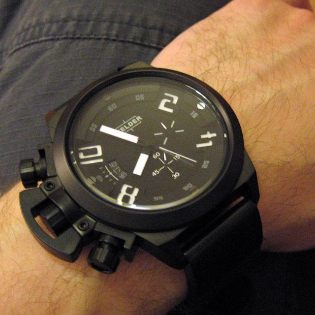 I'd start wearing watches if I got this for me.