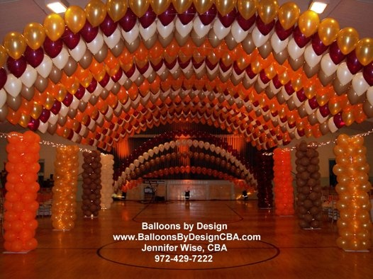 balloon dance floors | Floating Balloon Canopy over the dance floor area at the Ruthe Jackson & 92 best Balloon Canopies u0026 Dancefloors images on Pinterest ...