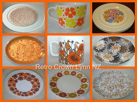 CROWN LYNN  / CROWNLYNN / KIWIANA / NZ New Zealand / Crown Lynn Crockery Art