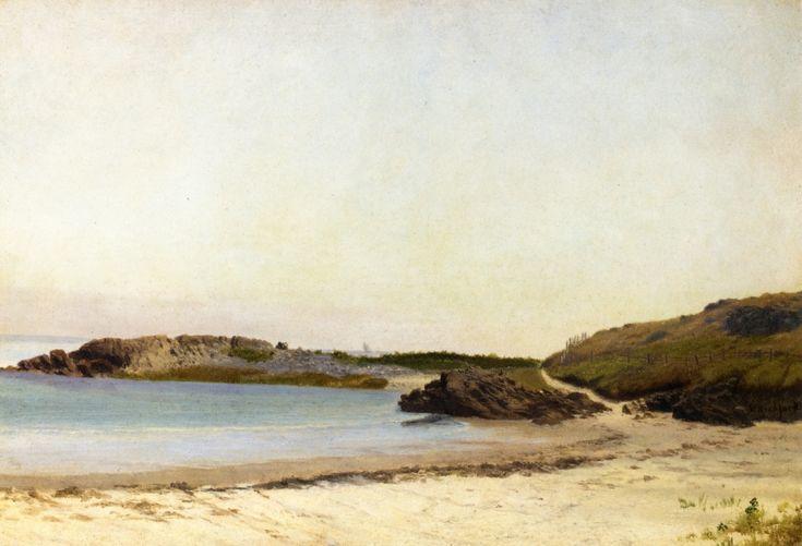 Wilbur's Point, Sconticut Neck, Fairhaven, Massachusetts William Bradford (1855-1860)