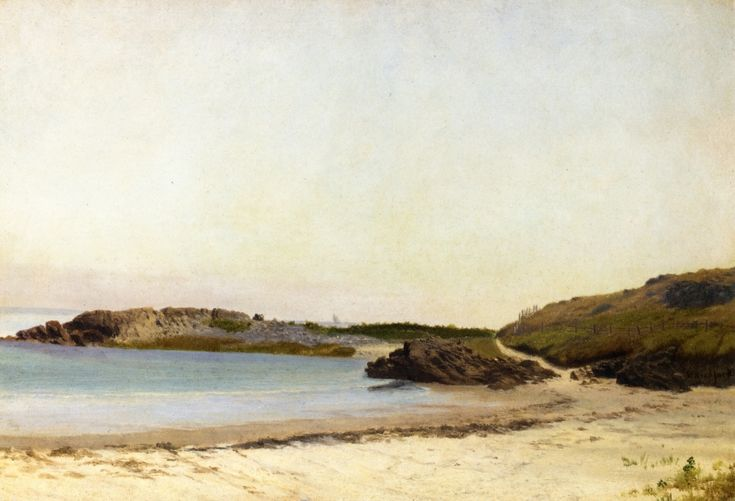 Wilbur's Point, Sconticut Neck, Fairhaven, Massachusetts William Bradford (1855-1860)