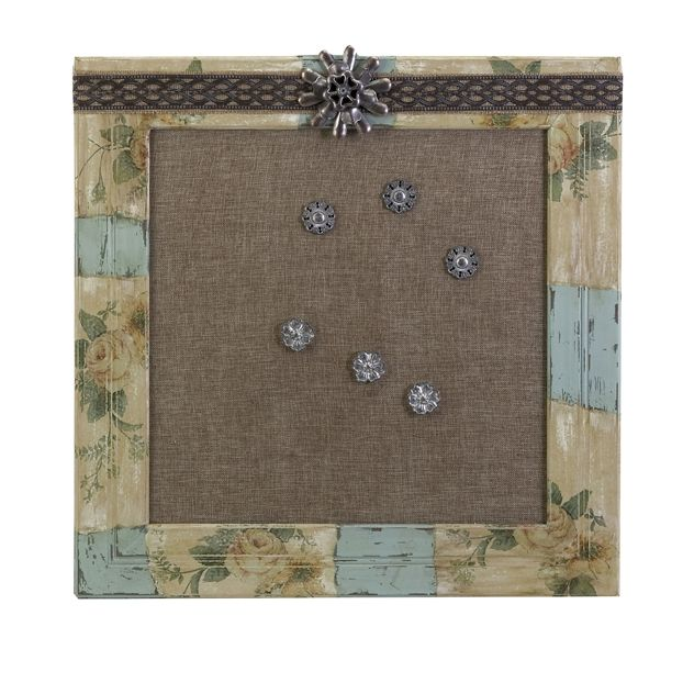 Amazing The Vintage Bulletin Board, Part Of The Ella Elaine Collection, Features  Found Objects To