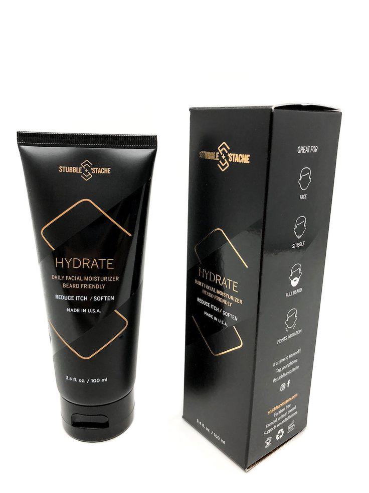Hydrate: Daily facial and beard moisturizer