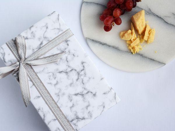 Marble wrap, so elegant