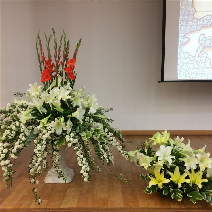 2017.5.21. This week's church flower decoration.