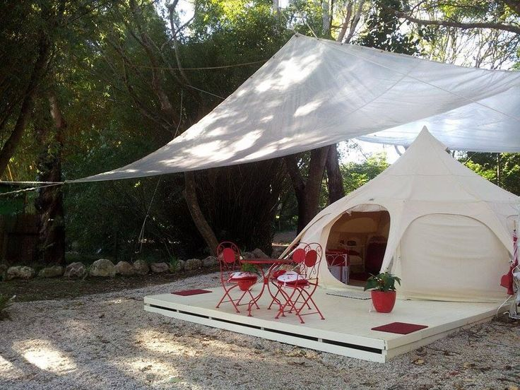 1018 best images on pinterest for Canvas platform tents