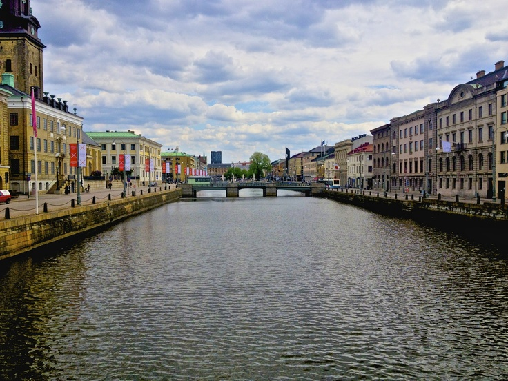 Canal in Goteborg