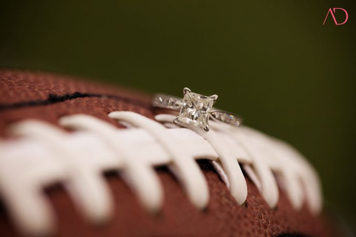 football engagement pictures...perfect!