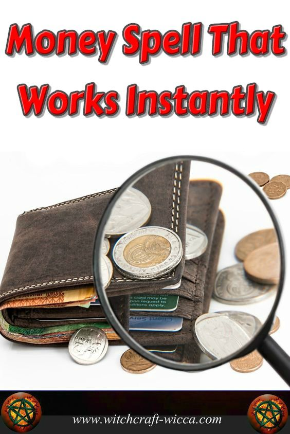Cast a #Wealth #Spell to Attract #Money How to cast a #Money #Spell That Works Instantly? Casting a wealth spell you will find that you have conditioned yourself to wealth and Divine financial order via @wicca_witchcraft