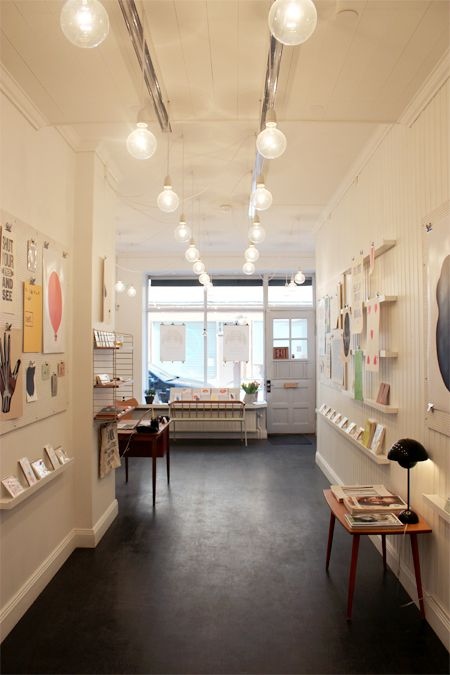 Talent Gallery, artistic and commercial space in central Stockholm that provides exhibition and retail opportunities for emerging graphic designers and illustrators from all over the world. Also a printshop