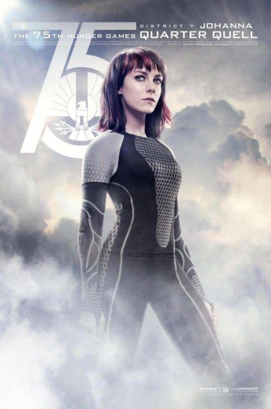 """Personagens são destaque nos cartazes do filme """"Jogos Vorazes: Em Chamas"""""""