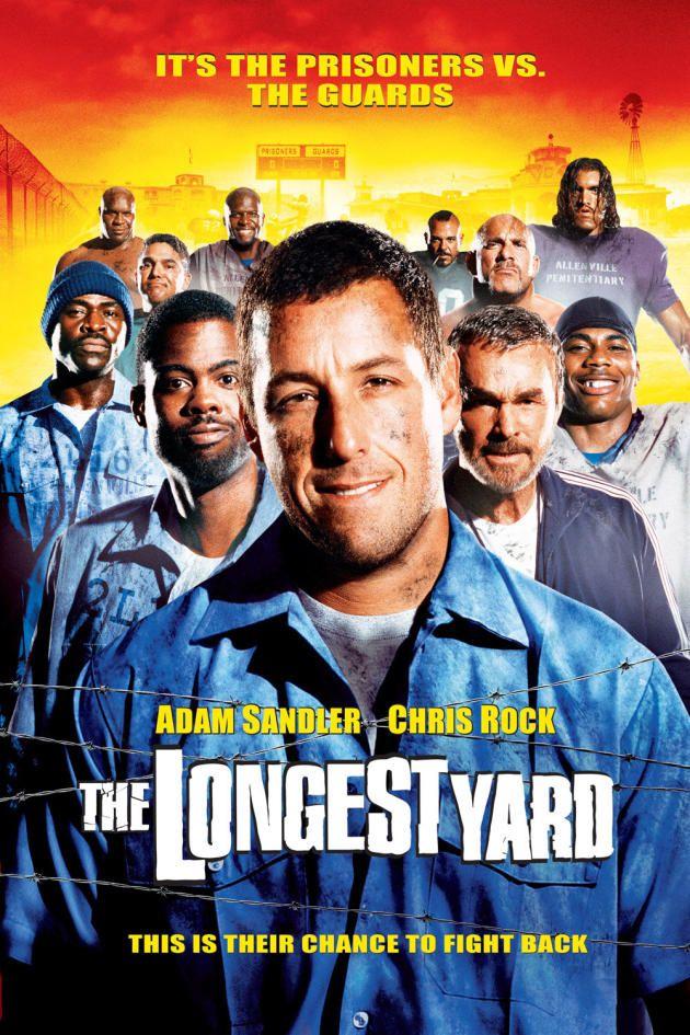 The Longest Yard starring Adam Sandler and Chris Rock