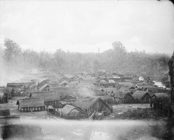 Parihaka Pa, 1881