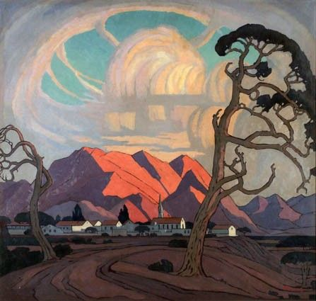 Pierneef - Karibib, South West Africa