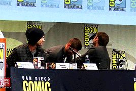 "One fan asked executive producer Jeremy Carver about an issue that's been plaguing the show for much of its run. (WARNING: Spoiler alert for Season 10 of Supernatural.) | A ""Supernatural"" Writer Got Dragged For Misogyny At Comic-Con And The Cast Just Laughed"