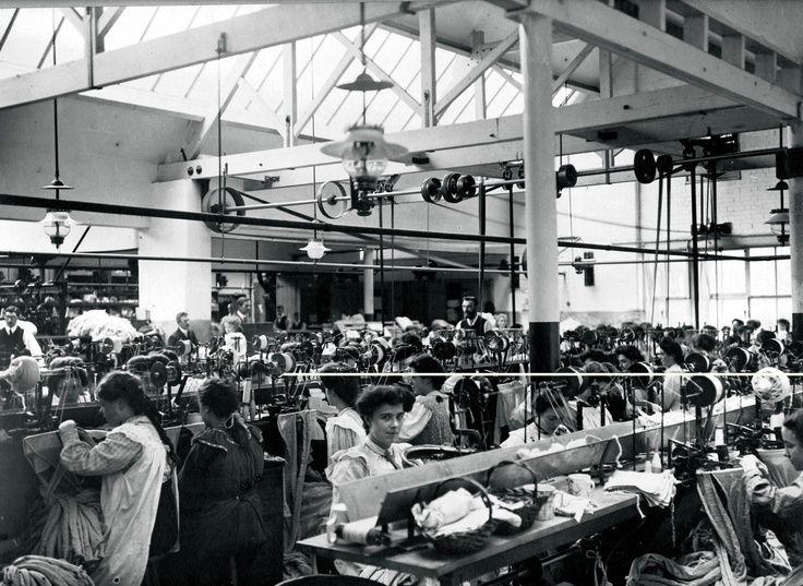 John Smedley Factory Early 1900s
