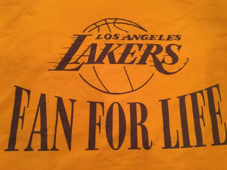 Nwot Kobe Bryant's Los Angeles Lakers 'fan For Life' Shirt Adult X-large Xl #NBA from $10.99