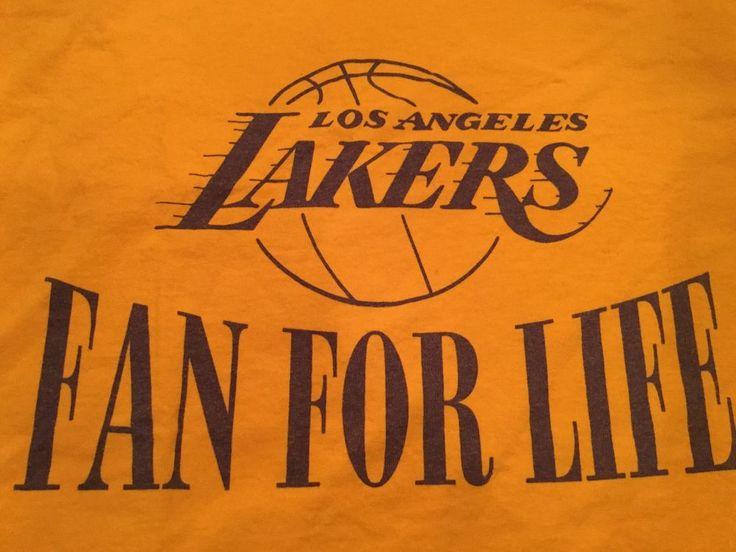 Vintage Lakers Tshirt 61