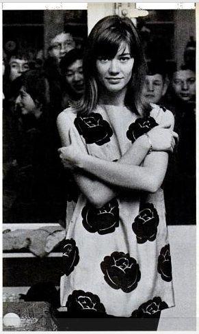 Françoise Hardy photo Shahrokh Hatami 1964