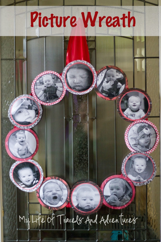 Picture Wreath - A great idea for the grandkids pictures and some of the moms & dads :)