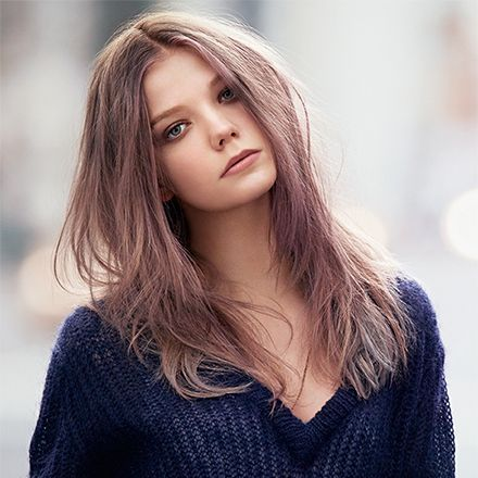 Ash Brown Pink Hair 1000+ ideas about Pink...