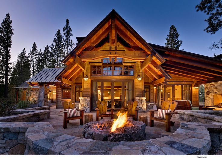O Beautiful Roof, Nice Wall, Great Fire Pit Residential Home By Sandbox  Studio,